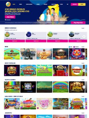 Welcome package £30 BINGO BONUS WHEN YOU SPEND £10